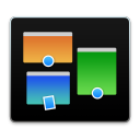128x128px size png icon of missioncontrol