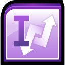 128x128px size png icon of Microsoft Office InfoPath