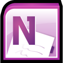 Microsoft Office One Note Icon