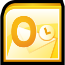 128x128px size png icon of Microsoft Office Outlook
