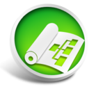 128x128px size png icon of Microsoft Project