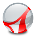 128x128px size png icon of Adobe Acrobat Reader