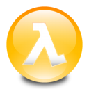 128x128px size png icon of Half Life