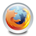 128x128px size png icon of Mozilla Firefox