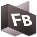 128x128px size png icon of Flash Builder 1