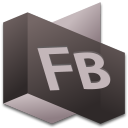 128x128px size png icon of Flash Builder 2