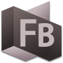 128x128px size png icon of Flash Builder 4