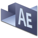 128x128px size png icon of After Effects 2