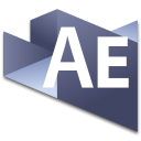 128x128px size png icon of After Effects 3