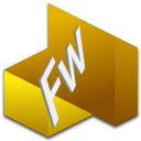 128x128px size png icon of Fireworks 1