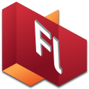 128x128px size png icon of Flash 1