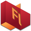128x128px size png icon of Flash 2