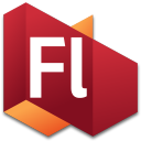 128x128px size png icon of Flash 3