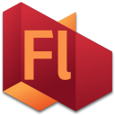 128x128px size png icon of Flash 4