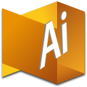 128x128px size png icon of Illustrator 1