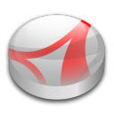 128x128px size png icon of Adobe Reader 7