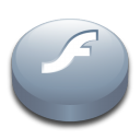 128x128px size png icon of Macromedia Flash Player