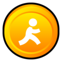 128x128px size png icon of AOL Instant Messenger