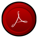 128x128px size png icon of Adobe Acrobat Reader 8