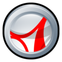 128x128px size png icon of Adobe Acrobat Reader CS 2