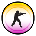 128x128px size png icon of Counter Strike Source