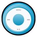 128x128px size png icon of iPod Blue