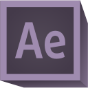 128x128px size png icon of Adobe After Effects CC