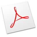 128x128px size png icon of Acrobat Professional
