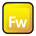 128x128px size png icon of Adobe Fireworks CS 3