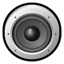 128x128px size png icon of Audacious