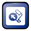 128x128px size png icon of MS Office 2003 Front Page