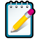 128x128px size png icon of Notepad++