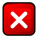128x128px size png icon of Windows Close Program