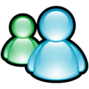 128x128px size png icon of Windows Messenger