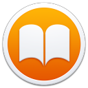 128x128px size png icon of Apple Books Border