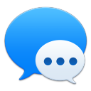 128x128px size png icon of Apple Messages