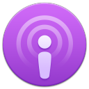 128x128px size png icon of Podcasts