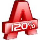 128x128px size png icon of Alcohol 120%