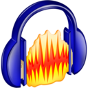 128x128px size png icon of Audacity