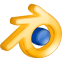 128x128px size png icon of Blender