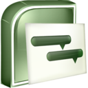 128x128px size png icon of Project