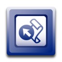 128x128px size png icon of Microsoft Frontpage