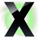 128x128px size png icon of X Circle Green