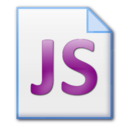 128x128px size png icon of Jscript file