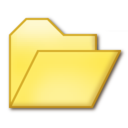 128x128px size png icon of Opened folder