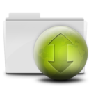 128x128px size png icon of Torrent Folder (Close)