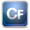 128x128px size png icon of coldfusion