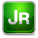 128x128px size png icon of jrun