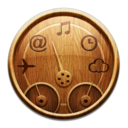 Wooden Dashboard Icon