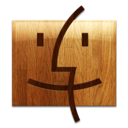Wooden Finder Icon